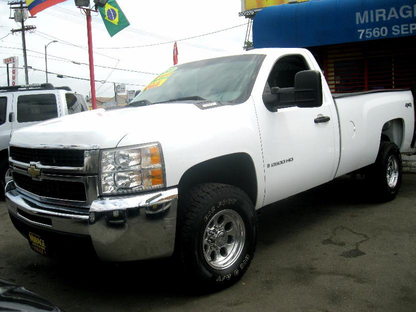 2007 chevrolet silverado 2500hd work truck cars for sale. Black Bedroom Furniture Sets. Home Design Ideas