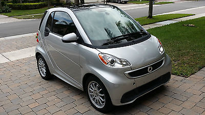 Other Makes : Fortwo Passion Coupe 2-Door 2013 smart fortwo passion coupe silver black leather loaded 2014 2012 for two