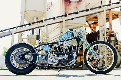 Harley-Davidson : Sportster CUSTOM 79  HARLEY DAVIDSON IRONHEAD FRESH BUILD