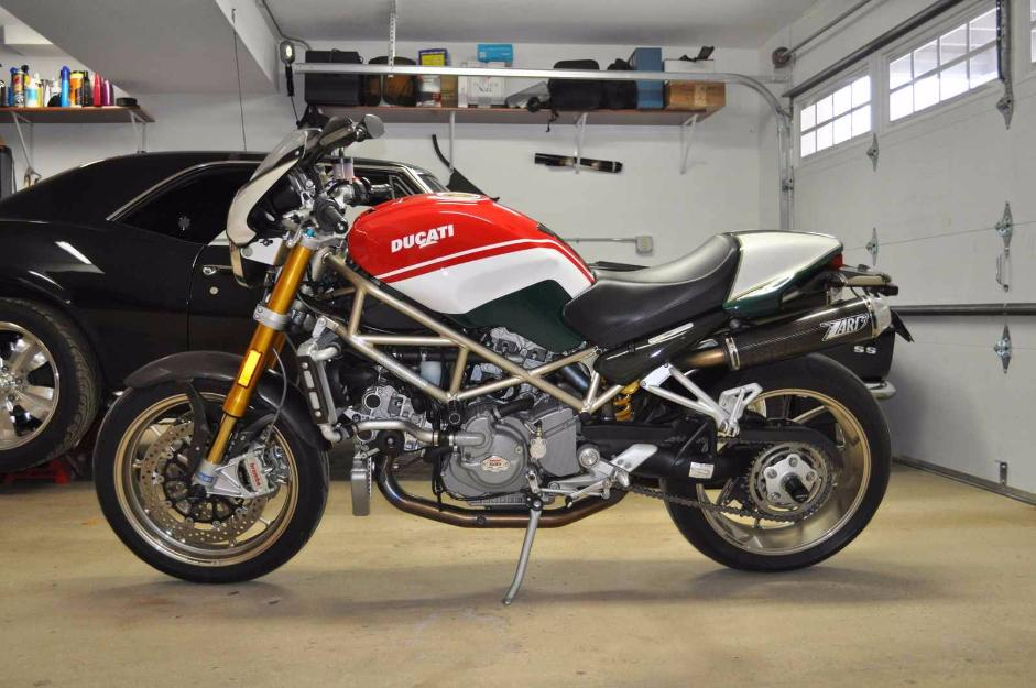 2008 Ducati Monster Tricolore S4RS