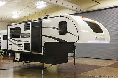New 2015 HS-2911 2 Slide Out Pickup Truck Camper with Toilet Shower Never Used