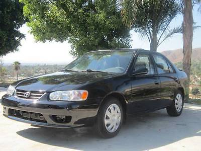 Toyota : Corolla Clean Title & Carfax, A/C, Gas Saver, Reliable 2001 toyota corolla le sedan 4 door gas saver clean title reliable