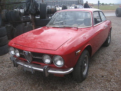 Alfa Romeo : GTV 1971 alpha romeo 1750 gtv coupe two owner el paso texas car