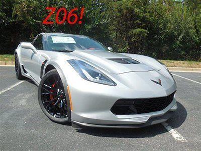 Chevrolet : Corvette 2dr Z06 Coupe w/2LZ Chevrolet Corvette 2dr Z06 Coupe w/2LZ New Manual Gasoline 6.2L 8 Cyl BLADE SILV