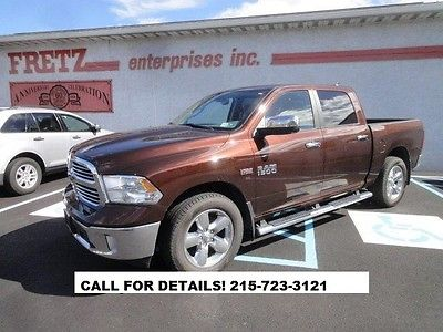 Ram : 1500 1500 Big Horn 4X4 2013 dodge ram big horn 1500 4 x 4 crew cab pickup truck navi back up camera xm
