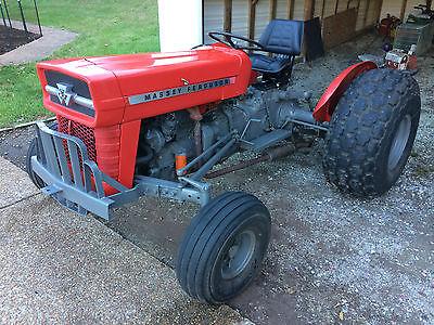 Massey Ferguson MF20 Tractor Perkins Gas 3 cylinder