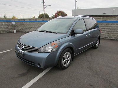 Nissan : Quest 4dr S 4 dr s van automatic gasoline 3.5 l v 6 cyl blue