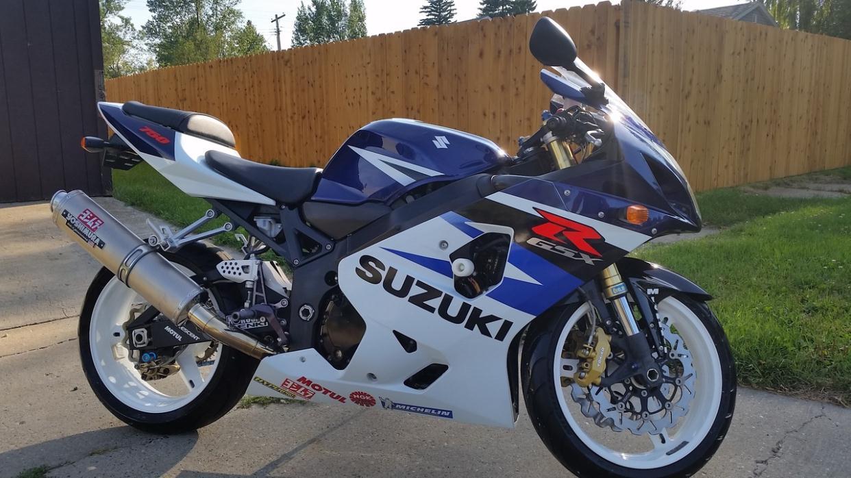 2004 Suzuki Gsx-R 750