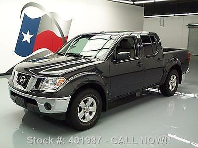 Nissan : Frontier SV CREW AUTOMATIC LEATHER 2011 nissan frontier sv crew automatic leather 74 k mi 401987 texas direct auto