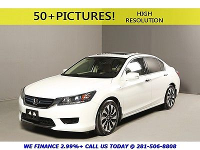 Honda : Accord 2015 HYBRID EX-L SUNROOF REARCAM LEATHER HEATSEATS 2015 honda accord hybrid ex l sunroof rearcam lanewatch heat seats whie pearl