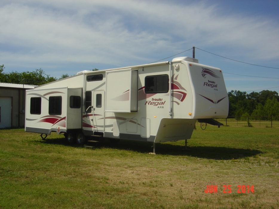 Fleetwood Prowler Regal Ax6 38fkqs Rvs For Sale