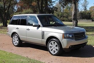 Land Rover : Range Rover HSE LUX Range Rover Certified Rear Seat Entertainment Lux Pack MSRP New $87,135