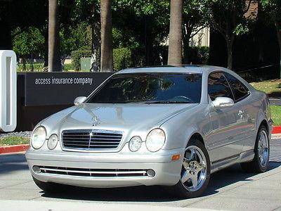 Mercedes-Benz : CLK-Class CLK55 AMG 2001 mercedes benz clk 55 amg coupe low miles very clean 01 clk 55 amg