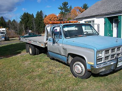 GMC : Other Base Cab & Chassis 2-Door 1982 gmc c 3500 ramp truck 2 door 6.2 l all hydralic