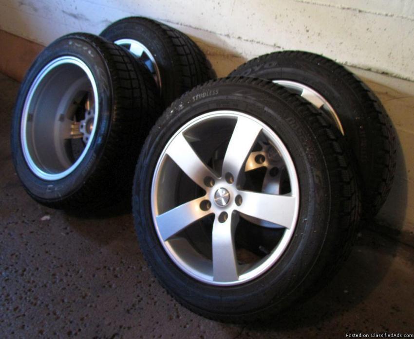 Mustang wheels & snow tires