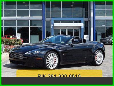 Aston Martin : Vantage Base Convertible 2-Door 2008 used 4.3 l v 8 32 v automatic rear wheel drive premium