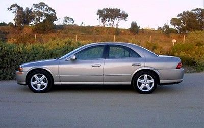 Lincoln : LS Sport Package 2000 lincoln ls v 8 with sport package great condition less than 85 000 miles