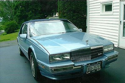 Cadillac : Seville 1990 cadillac seville classic lt blue excellent condition in out must see