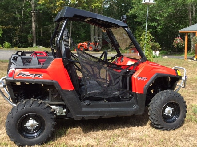 2016 Polaris Ranger XP 570 Solar Red