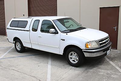 Ford : F-150 Supercab  1997 ford f 150 extended cab camper shell clean excellent