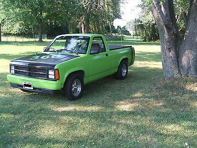 Dodge : Dakota Base Standard Cab Pickup 2-Door Mopar! 1989 Dodge Dakota 360 V8!