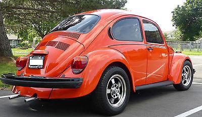 Volkswagen : Beetle - Classic Love Bug Edition 1974 volkswagen beetle love bug edition