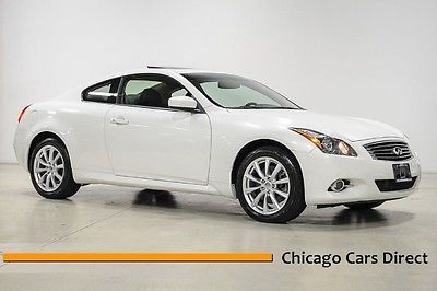 Infiniti : G37 x AWD 12 g 37 x awd coupe moonlight white black leather premium navigation gps low miles