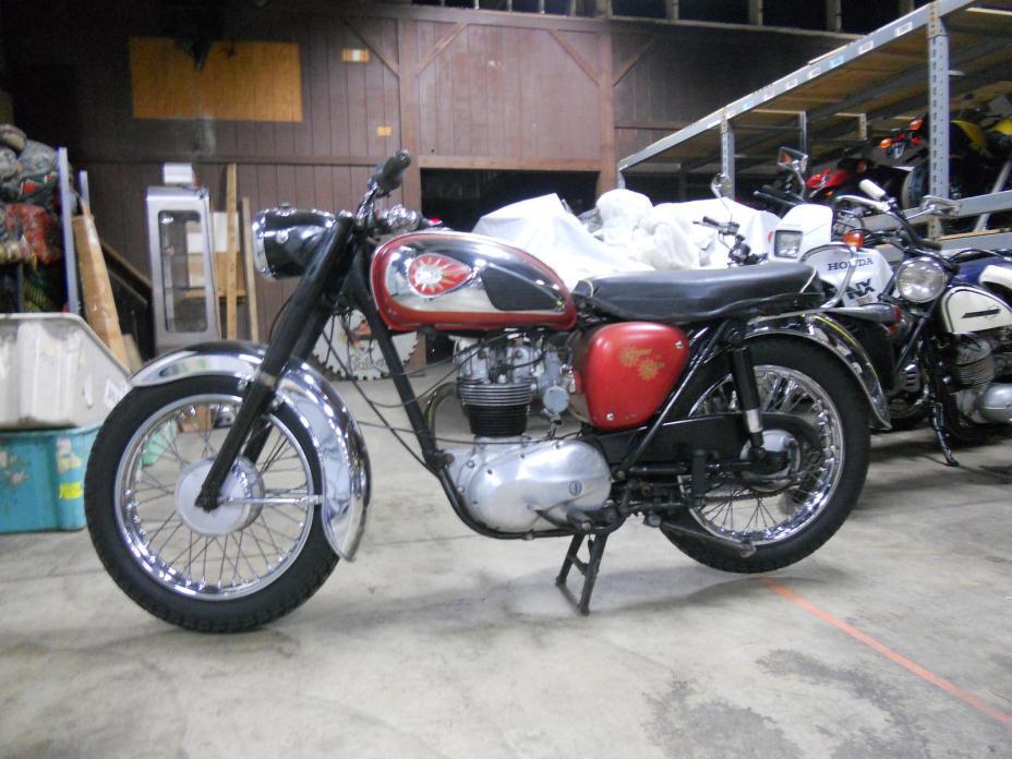 1962 BSA Gold Star CLUBMAN