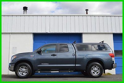 Toyota : Tundra SR5 5.7L V8 4x4 4WD Leer Cap Bedliner Warranty Full Power Options Thule Roof Rack Running Boards Bluetooth Great Truck Save Big