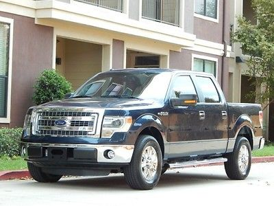 Ford : F-150 FreeShipping F-150 5.0L FlexFuel XLT Crew Cab 5K Miles ONLY! Excellent Condition! NEW TIRES!