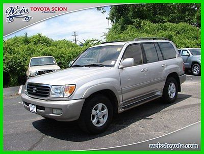 Toyota : Land Cruiser Base Sport Utility 4-Door 2000 used 4.7 l v 8 32 v automatic 4 wd suv moonroof premium