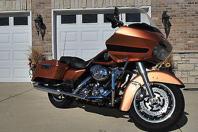Harley-Davidson : Touring 2008 harley davidson fltr road glide 105 th anniversary edition under book value