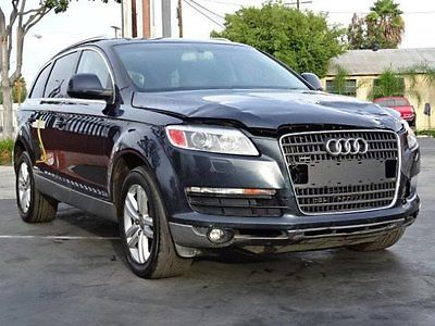 Audi : Q7 4.2 quattro 2007 audi q 7 4.2 quattro damaged rebuilder loaded priced to sell export welcome