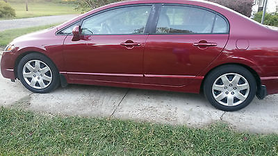 Honda : Civic LX Sedan 4-Door 2010 honda civic immaculate 5000 miles
