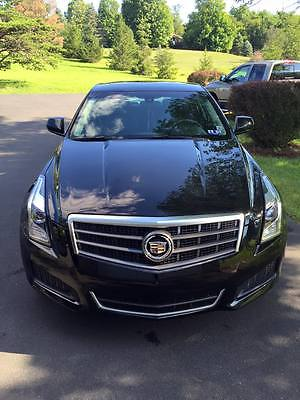 Cadillac : ATS Base Sedan 4-Door 2013 cadillac ats 2.0 4 cyl turbo sedan black raven 6 speed automatic sunroof