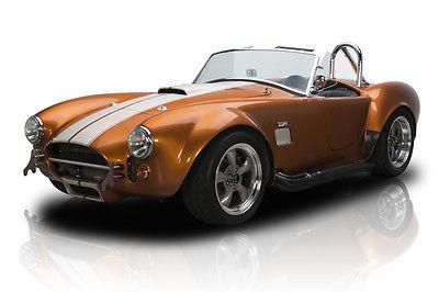 Shelby : Cobra Frame Off Built Factory Five Cobra Roadster 347 V8 5 Speed Manual