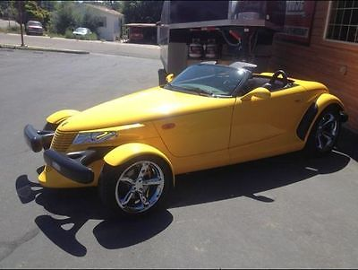 Plymouth : Prowler Base Convertible 2-Door 2000 plymouth prowler base convertible 2 door 3.5 l low miles super clean