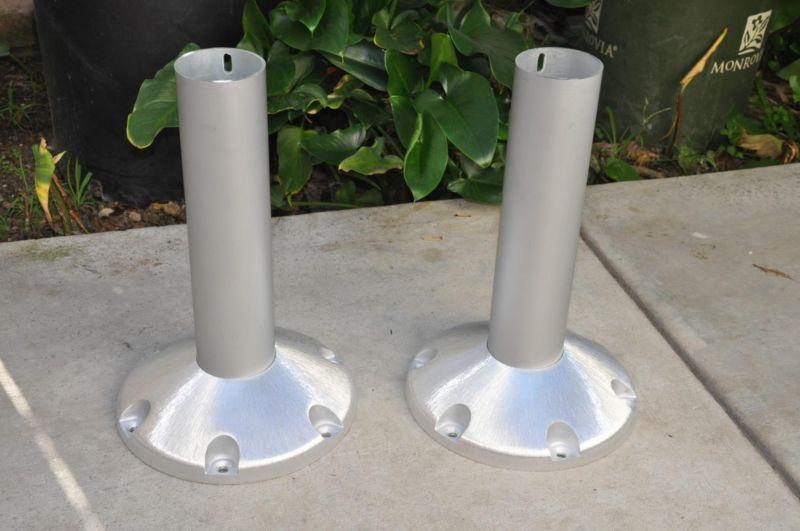 Seat Pedestals, 2 NEW 15