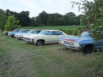 Chevrolet : Impala 1967 chevrolet impala 4 door hardtop supernatural 67 4 dr chevy 4 dr black tan in