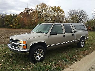 Chevrolet : C/K Pickup 2500 2000 chevrolet 2500 2 wd 4 dr crew cab 454 v 8