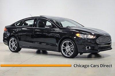 Ford : Fusion Titanium AWD 14 fusion titanium awd 2.0 t turbo moonroof navigation gps 19 ecoboost
