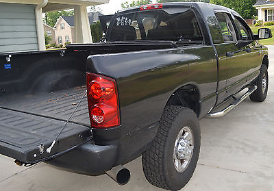 Dodge : Ram 2500 Laramie Black Dodge Ram 2500 Mega Cab 6.7 Turbo Diesel