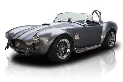 Shelby : Cobra Frame Off Built Cobra Roadster Blueprinted 408 V8 TKO 5 Speed Ford 8.8