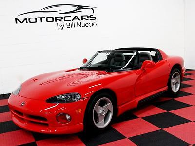 Dodge : Viper RT/10 1994 dodge viper rt 10 red grey only 8 k miles nicest first gen around