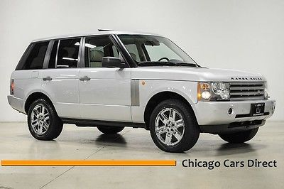 Land Rover : Range Rover HSE 05 range rover hse chrome 19 wheels low miles rare clean one owner