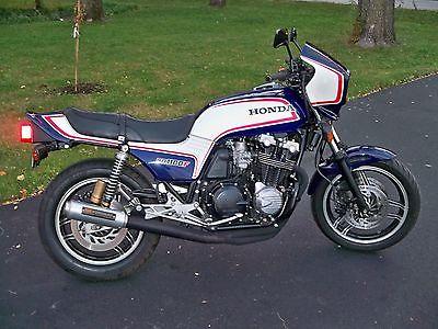 Honda : CB 1983 honda cb 1100 f restored rebuilt w nos parts super bike