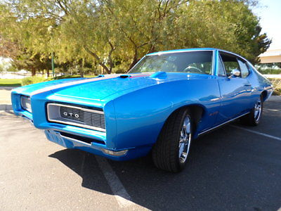 Pontiac : GTO GTO 1968 pontiac gto hardtop 242 vin 461 th 400 automatic restored phs documented