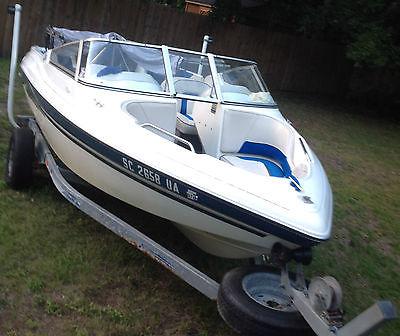 1996 SeaSwirl Bowrider 18.5 ft Motor Speed Ski Boat