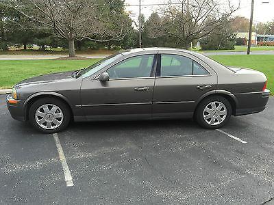 Lincoln : LS Base Sedan 4-Door 2002 lincoln ls base sedan 4 door 3.9 l