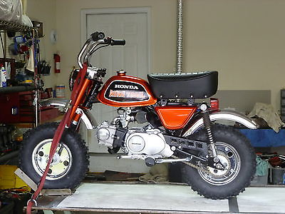 Honda : CT Honda Z70 TOPAZ ORANGE Z50 BIG WHEEL Mini Trail FULLY RESTORED
